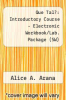 cover of Que Tal?: Introductory Course - Electronic Workbook/Lab. Package (SW) (6th edition)