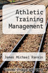 Cover of Athletic Training Management 3 (ISBN 978-0072843897)