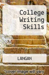 Cover of College Writing Skills 6 (ISBN 978-0072871869)