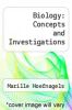 cover of Biology: Concepts and Investigations (1st edition)