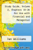 cover of Study Guide, Volume 2, Chapters 15-26 for Use with Financial and Managerial Accounting: A Basis for Business Decisions (13th edition)