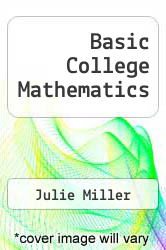 Cover of Basic College Mathematics EDITIONDESC (ISBN 978-0073023182)
