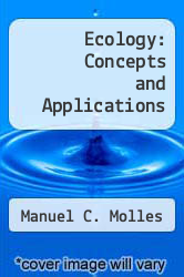 Cover of Ecology: Concepts and Applications 4 (ISBN 978-0073050829)