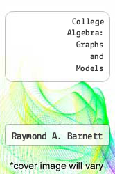 Cover of College Algebra: Graphs and Models 3 (ISBN 978-0073051956)