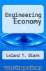 cover of Engineering Economy (6th edition)