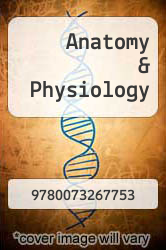 Cover of Anatomy & Physiology 4 (ISBN 978-0073267753)