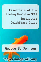 Cover of Essentials of the Living World w/ARIS Instructor QuickStart Guide 2 (ISBN 978-0073305707)