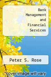 Cover of Bank Management and Financial Services 8 (ISBN 978-0073382432)