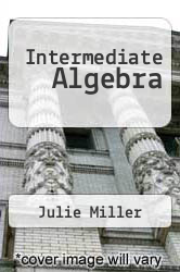 Cover of Intermediate Algebra 3 (ISBN 978-0073384221)