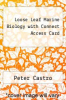 cover of Loose Leaf Marine Biology with Connect Access Card (9th edition)