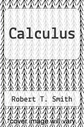 Cover of Calculus 3 (ISBN 978-0073406060)