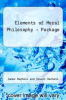 cover of Elements of Moral Philosophy - Package (5th edition)