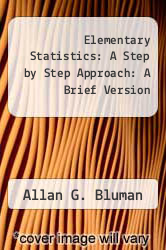 Cover of Elementary Statistics: A Step by Step Approach: A Brief Version 4 (ISBN 978-0073534961)
