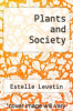 cover of Plants and Society