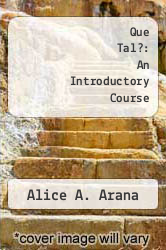 Cover of Que Tal?: An Introductory Course 3 (ISBN 978-0075574217)