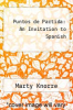 cover of Puntos de Partida: An Invitation to Spanish (5th edition)