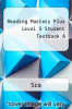 cover of Reading Mastery Plus Level 5 Student Textbook A