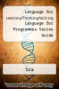 cover of Language for Learning/Thinking/Writing Language for Programmes Series Guide