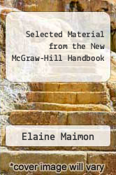 Cover of Selected Material from the New McGraw-Hill Handbook EDITIONDESC (ISBN 978-0077228217)