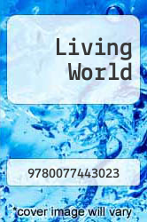 Cover of Living World EDITIONDESC (ISBN 978-0077443023)