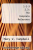 cover of 1-2-3 2.3: The Complete Reference (2nd edition)