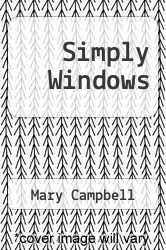 Cover of Simply Windows EDITIONDESC (ISBN 978-0078817434)