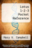 cover of Lotus 1-2-3 Pocket Reference (3rd edition)