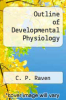 cover of Outline of Developmental Physiology (3rd edition)