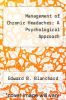 cover of Management of Chronic Headaches; A Psychological Approach