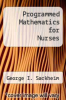 cover of Programmed Mathematics for Nurses (7th edition)