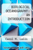 cover of BIOLOGICAL OCEANOGRAPHY: AN INTRODUCTION