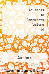 Advances In Computers Volume 36 A digital copy of  Advances In Computers Volume 36  by Author. Download is immediately available upon purchase!