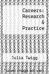 Careers: Research & Practice by Julia Twigg - ISBN 9780117016934
