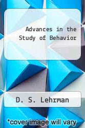 Cover of Advances in the Study of Behavior EDITIONDESC (ISBN 978-0120045068)