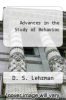 cover of Advances in the Study of Behavior