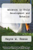 cover of Advances in Child Development and Behavior
