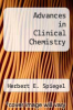 cover of Advances in Clinical Chemistry