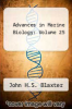 cover of Advances in Marine Biology: Volume 25
