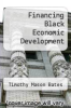cover of Financing Black Economic Development