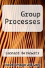 cover of Group Processes