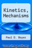 cover of Kinetics, Mechanisms (3rd edition)