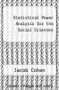 cover of Statistical Power Analysis for the Social Sciences