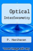 cover of Optical Interferometry