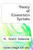 cover of Theory of Eisenstein Systems