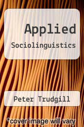 Cover of Applied Sociolinguistics EDITIONDESC (ISBN 978-0127012209)