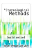cover of Stereological Methods
