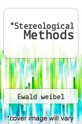 Cover of Stereological Methods 81 (ISBN 978-0127422022)