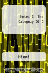 Notes In The Category Of C A digital copy of  Notes In The Category Of C  by Niemi. Download is immediately available upon purchase!