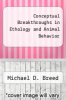 cover of Conceptual Breakthroughs in Ethology and Animal Behavior