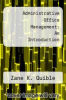 cover of Administrative Office Management (5th edition)
